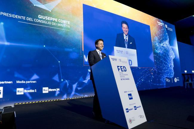 Il Presidente al Conte Forum dell'Economia Digitale