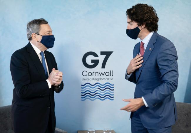 Incontro bilaterale con il Primo Ministro del Canada