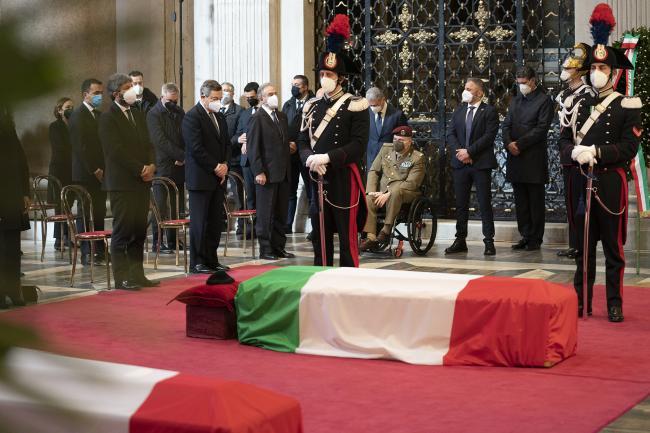 Attacco a Goma, il Presidente Draghi ai funerali di Stato delle vittime italiane