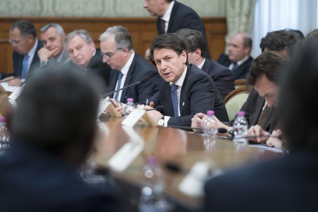 Strategia Italia, riunione della cabina di regia