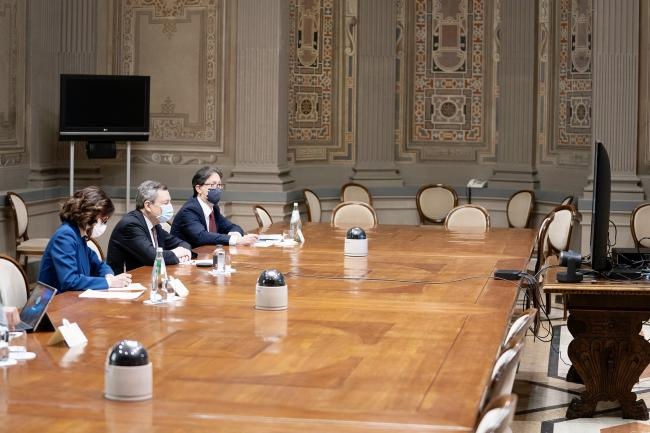 PNRR, Il Presidente Draghi incontra i Sindaci delle città metropolitane