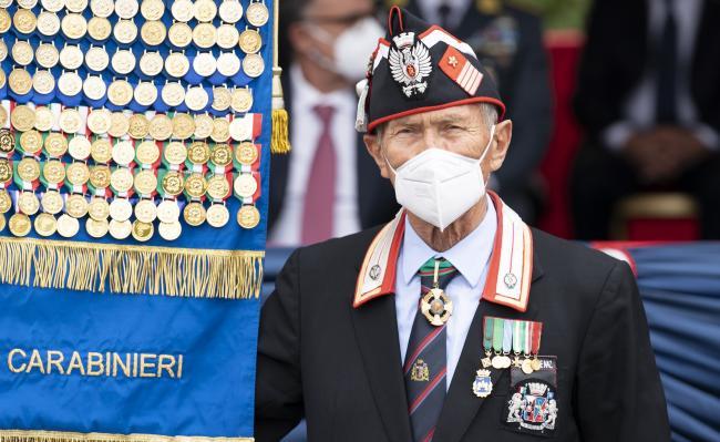 Cerimonia per il 207° Annuale di Fondazione dell'Arma dei Carabinieri