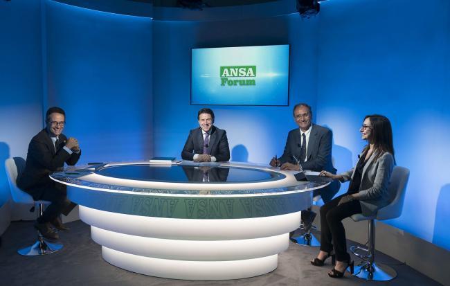 Conte partecipa al Forum ANSA