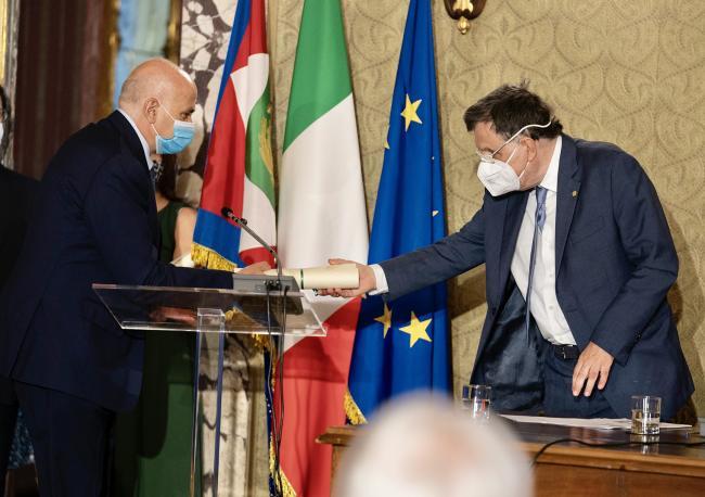 Il Presidente Draghi all'Accademia dei Lincei