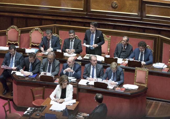 Libia, informativa del Presidente Conte al Senato