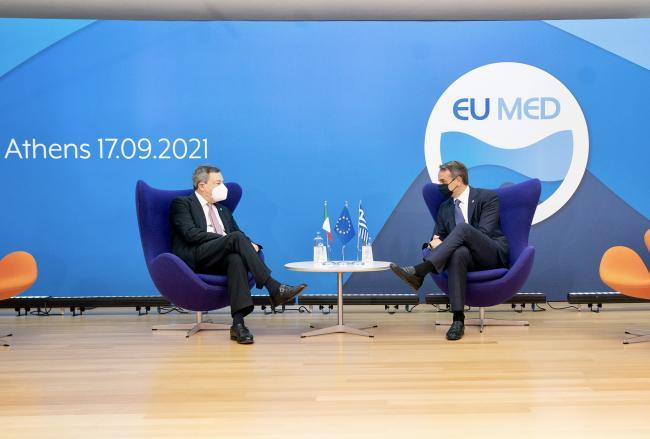 Incontro bilaterale con il Primo Ministro della Repubblica ellenica