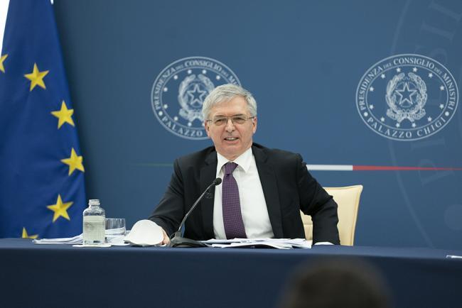 """Conferenza stampa per illustrare il Decreto """"Imprese, Lavoro, Giovani e Salute"""""""