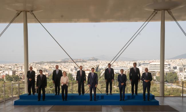 Vertice EU MED 9, la foto di famiglia
