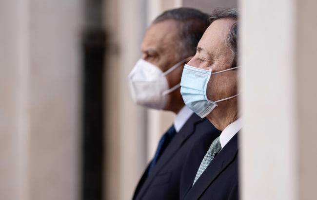 Draghi incontra il Presidente del Consiglio della Repubblica dell'Iraq