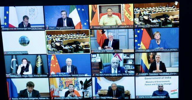 UN climate roundtable