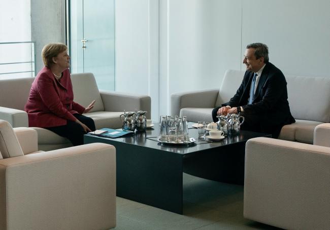 Il Presidente Draghi incontra la Cancelliera Merkel