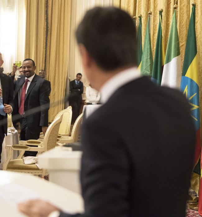 Il Presidente Conte al National Palace