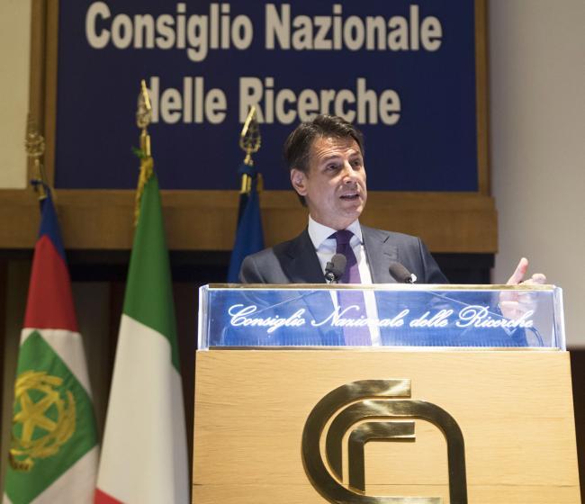Il Presidente Conte al CNR