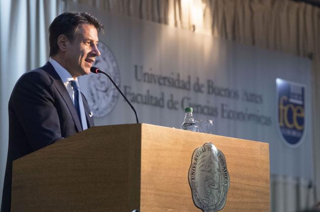 Il Presidente Conte all'Università di Buenos Aires