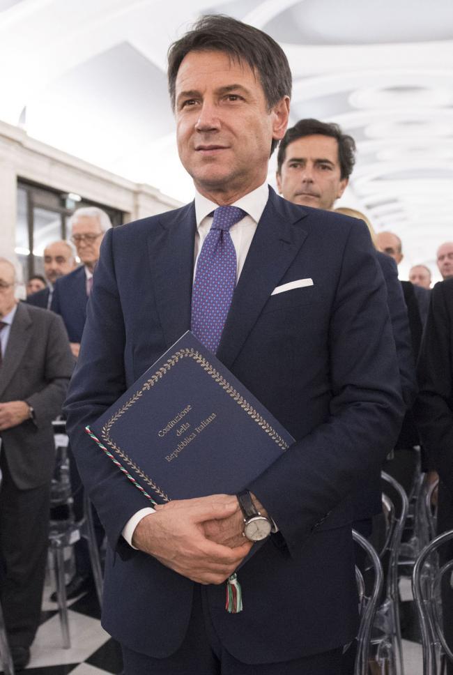 Il Presidente Conte al Concerto per i settanta anni della Costituzione