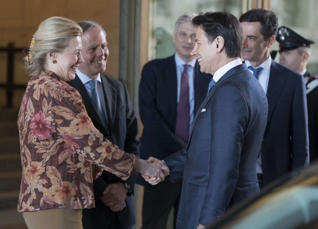 Il Presidente Conte alla 62° anniversario della firma dei Tratti di Roma