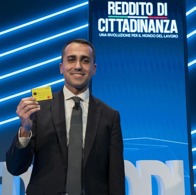 Reddito di Cittadinanza, presentazione del sito e della card