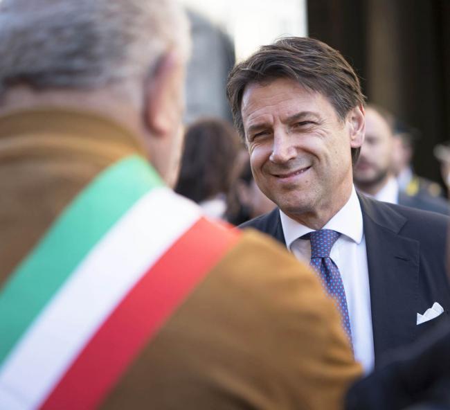 Il Presidente Conte a Cuneo