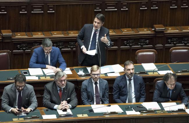 Il Presidente Conte alla Camera dei Deputati