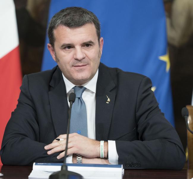 """Il Ministro Centinaio in conferenza stampa per la presentazione di """"ProteggItalia"""""""