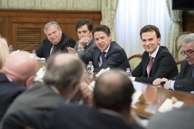 Il Presidente Conte incontra i Presidenti delle Regioni e delle Province Autonome