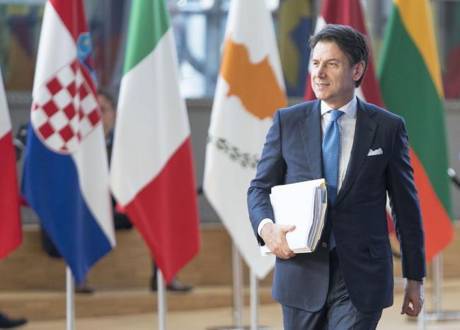 Il Presidente Conte a Bruxelles per il Consiglio europeo
