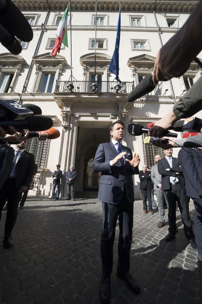 Punto stampa del Presidente Conte