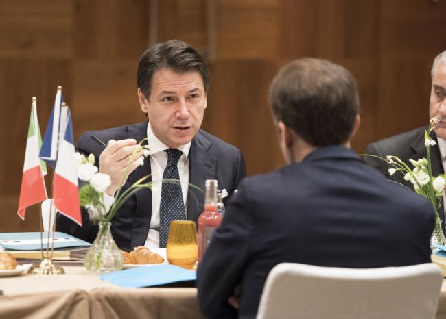 Incontro con il Presidente francese Macron