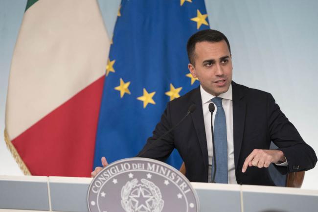 Conferenza stampa del Vice Presidente Di Maio