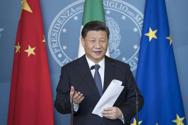 Il Presidente Xi Jinping a Villa Madama