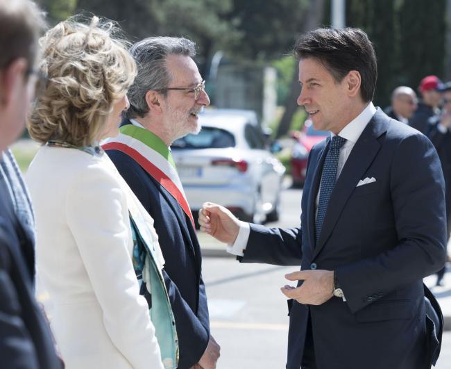 Il Presidente Conte a Lecce