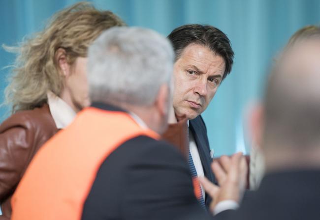 Il Presidente Conte e il Ministro Lezzi incontrano gli ulivicoltori danneggiati dalla xylella