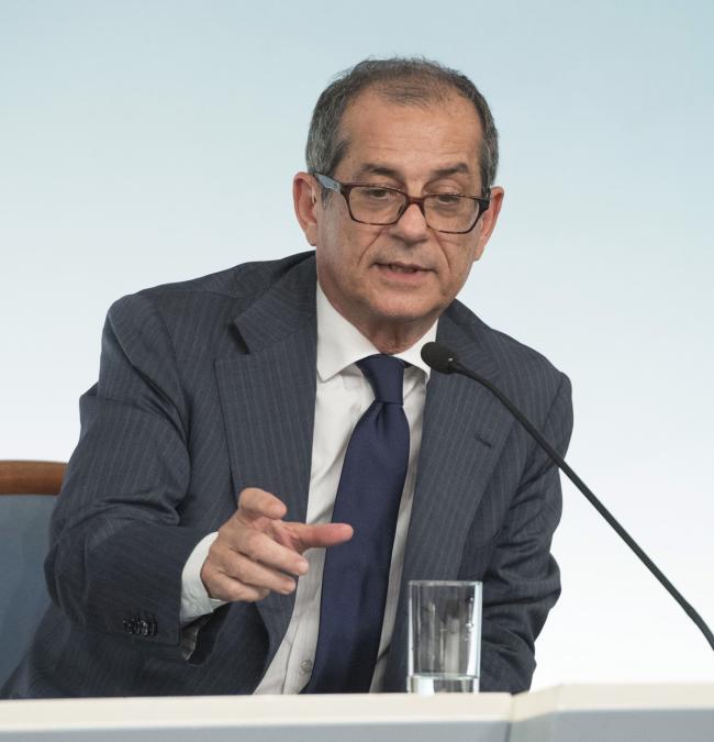 Consiglio dei Ministri n. 23, il Ministro Tria in conferenza stampa