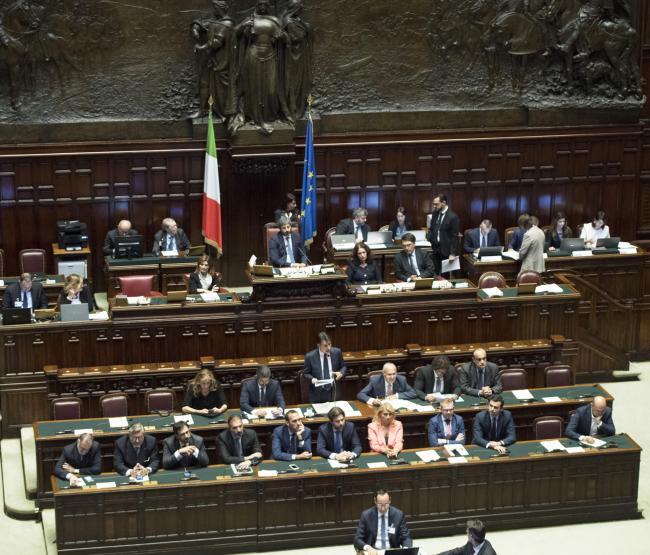 Il Presidente Conte alla Camera