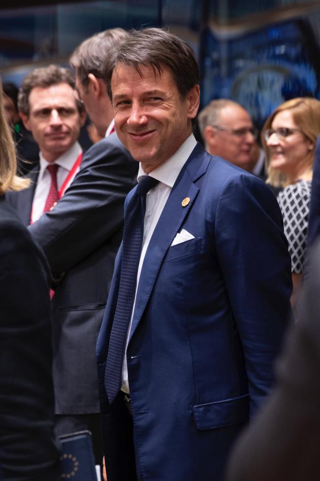 Il Presidente Conte al Consiglio europeo