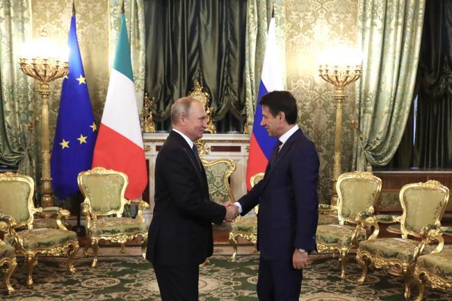 Incontro con il Presidente della Federazione Russa Vladimir Putin