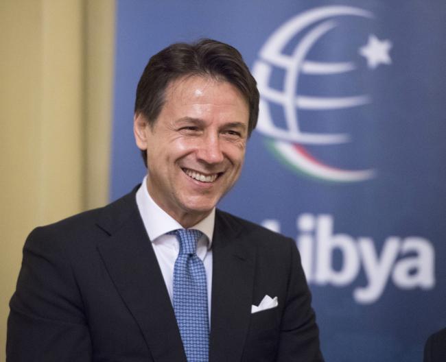 Il Presidente Conte - President Conte