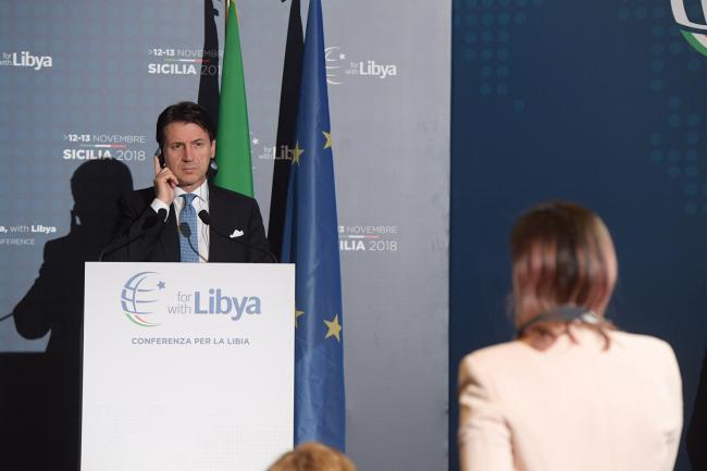 #ForLibyaWithLibya, la conferenza stampa – Press conference