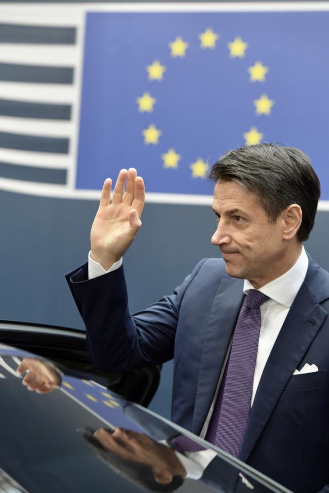 Conte al Consiglio europeo del 25 novembre