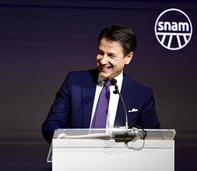 Conte allo Snam Partners' Day 2018