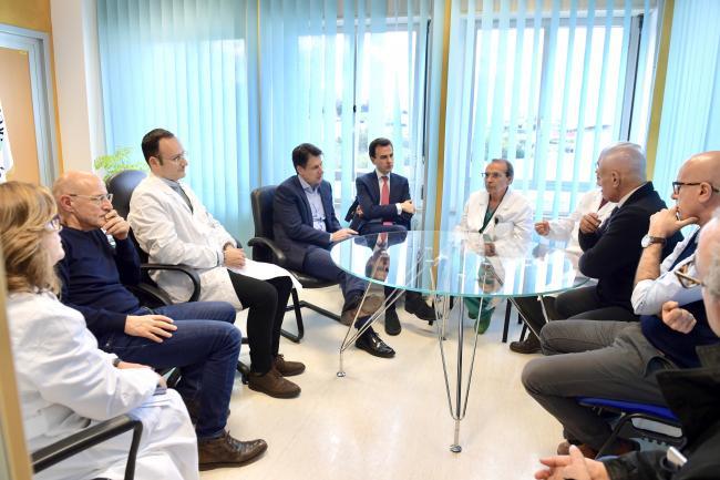 Il Presidente Conte in Ospedale ad Ancona