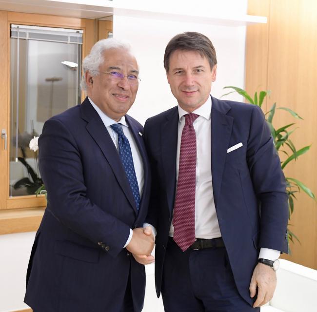 Incontro bilaterale Conte - Costa