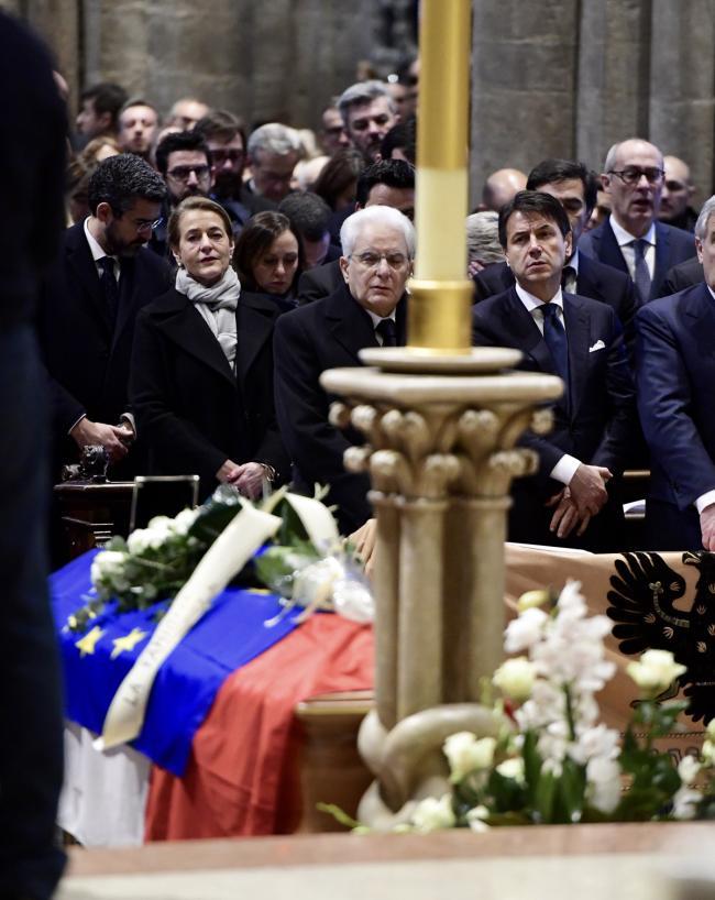 Il Presidente Conte a Trento per il funerale di Antonio Megalizzi