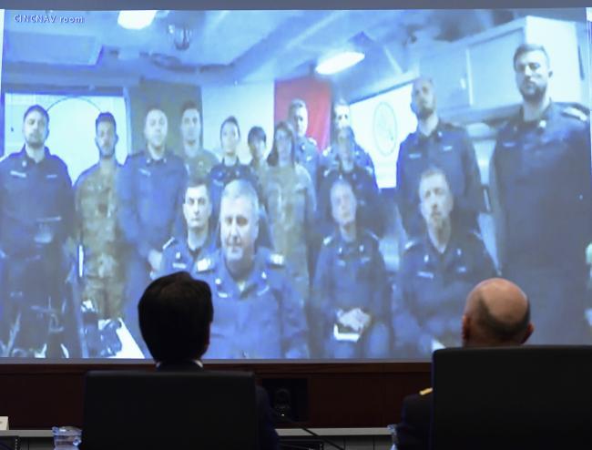 Visita al Comando Operativo di vertice Interforze (COI)