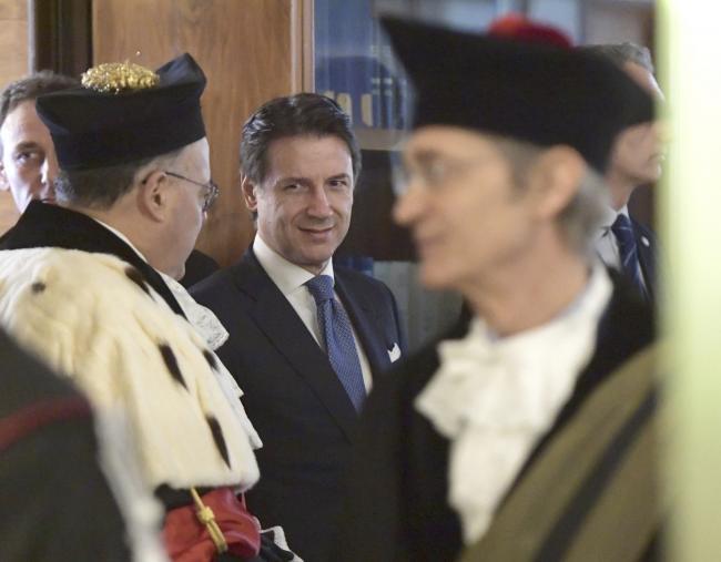 Conte all'inaugurazione dell'Anno Accademico dell'Università La Sapienza