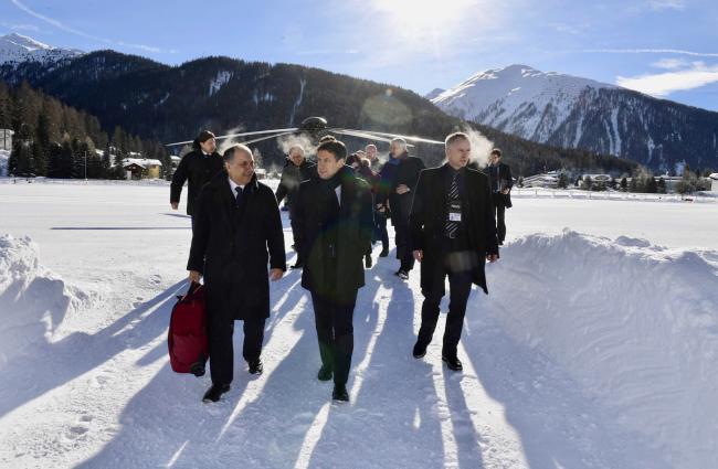 Il Presidente Conte a Davos