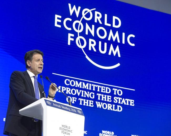 Il Presidente Conte al World Economic Forum di Davos