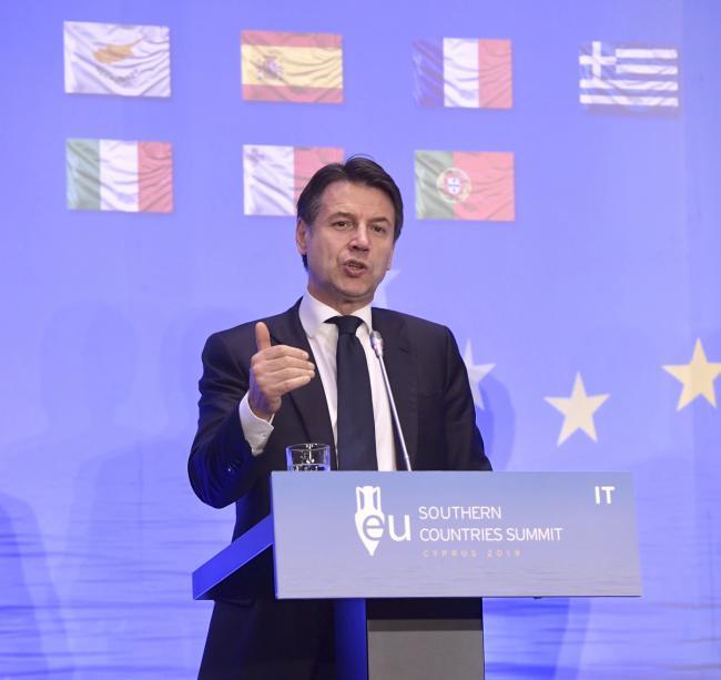 Vertice dei Paesi del Sud dell'Unione europea, le dichiarazioni alla stampa