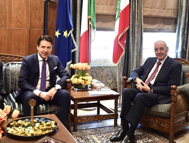 Incontro con lo speaker del Parlamento libanese