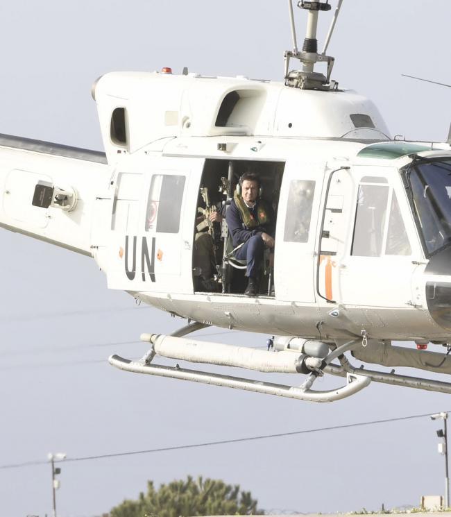 """Il Presidente Conte visita la base """"Millevoi""""di Shama"""